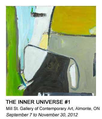 graphic of Barb's Saturday Night painting that links to the Universe #1 gallery