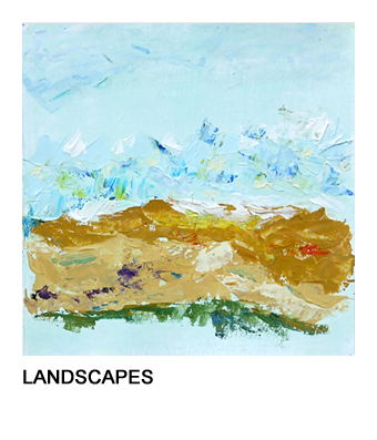 graphic of Barb's ocean painting that links to her Landscapes series